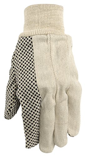 Pvc Dotted Cotton Glove - 4