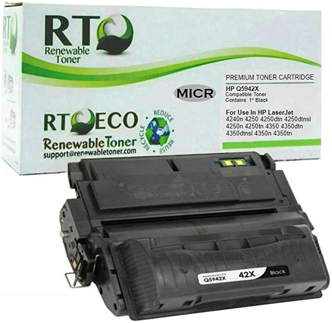 3 PK High Yield Black Q5942X Toner Cartridge For HP 42X Laserjet 4250 4350 n dtn