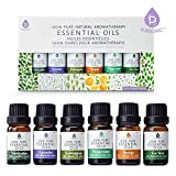 Pursonic 100% Pure Essential Aromatherapy Oils Gift Set-6 Pack , 10ML