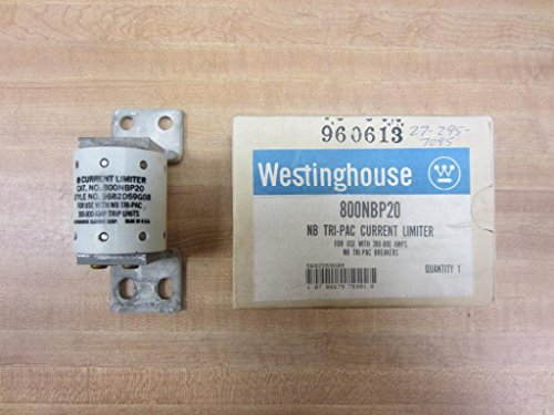 Westinghouse 800NBP20 NB Tri-Pac Current Limiter by Eaton / Cutler-Hammer / Westinghouse