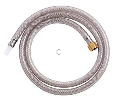 LDR 501 6300 Exquisite Replacement Side Sprayer Sink Hose, Fits Most Sprayer Heads, 48-Inch