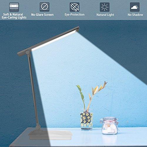 Pliable Avec De PliableLumière Lampe Damigram Table Led Bureau 8nOXk0wP