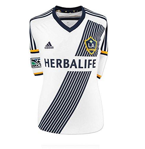 Steven Gerrard mano firmada LA Galaxy camiseta - número 8 ...