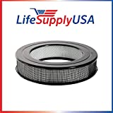 5 Pack Replacement Filter fits Honeywell Universal 14 Air Purifier Replacement HEPA filter HRF-F1 Filter F by LifeSupplyUSA