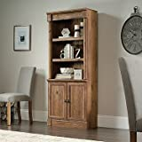 Sauder Palladia 3 Shelf Bookcase in Vintage Oak