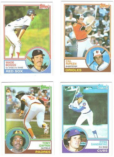1983 Topps Baseball Complete Set and 1983 Topps Traded Co...