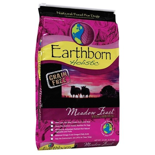 Earthborn Holistic Meadow Feast Grain Free Dry Dog Food, 14 Lb.