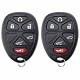 2 KeylessOption Replacement Keyless Entry Remote Start Control Key Fob Compatible with 15913427
