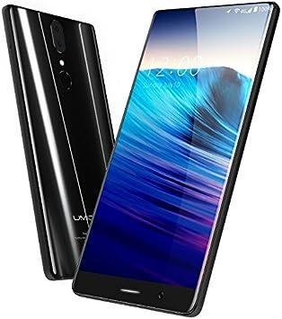 UMIDIGI Crystal - versión global Bezel-Menos 5,5 pulgadas FHD pantalla Android 7,0 smartphone, Corning gorila de vidrio 4, 1.5GHz quad core 4 GB de RAM de 64 GB: Amazon.es: Electrónica