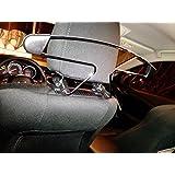 Mazda OEM metal colgadero Plata Metal Gancho De Coche Auto Asiento Reposacabezas Ropa Chaquetas Trajes Holder