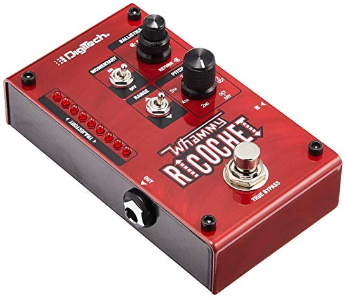 - Digitech Mini Guitar Pitch Effect Pedal, Red (WHAMMY RICOCHET)