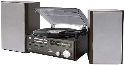 Elta 2750 G sistema compacto (CD-DVD, tocadiscos, radio FM/MW ...