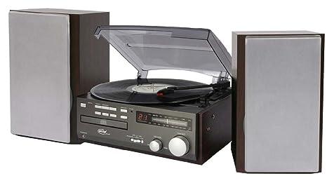 Elta 2750 G sistema compacto (CD-DVD, tocadiscos, radio FM ...