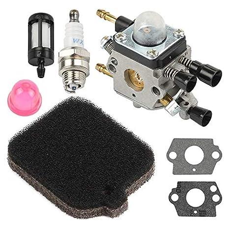 Amazon com: Tool Parts - Carburetor Bg46 Bg55 Bg65 Bg85 Sh55 Zama