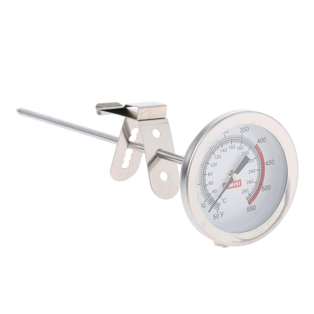 MagiDeal Stainless Steel Frothing Thermometer For Milk, Coffee, Cappuccino