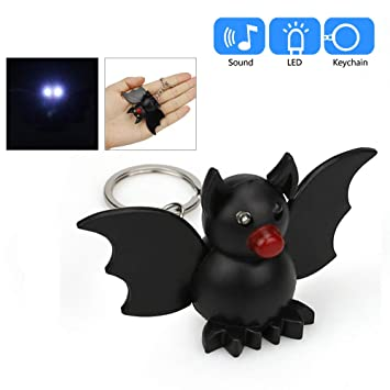 Amazon.com: Mini linterna llavero con sonido, Elevin(TM ...