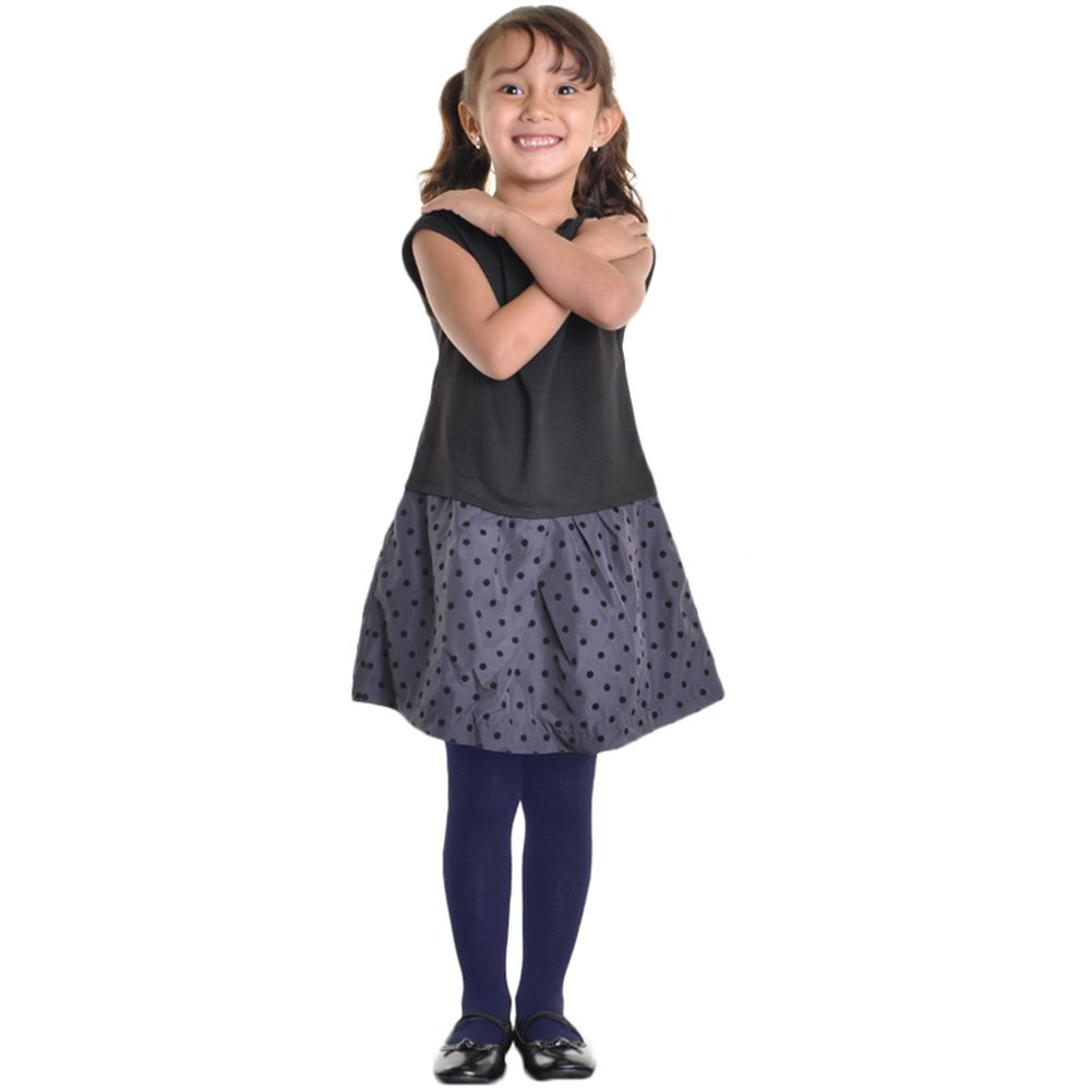 Angelina 6-Pair-Pack Girls Winter Tights #001