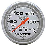 Auto Meter 4431M Water Temperature Gauge