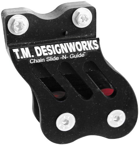 T.M. Designworks Factory Edition 1 Rear Chain Guide Black - Fits: Honda TRX 450ER 2012-2014