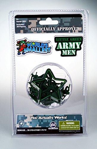 Super Impulse 502 Worlds Smallest Little Green Army Men - 6 Plus Age Group
