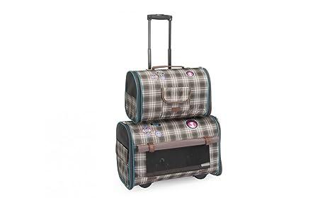 Trolley Trasportino Doppio Time To Travel Per Cani E Gatti Amazon