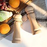 Salt and Pepper Grinder Set-Beech wood Salt and