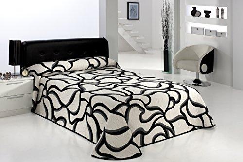 couvre lit blanc et noir Couvre Lit Moderne Noir Et Blanc couvre lit blanc et noir