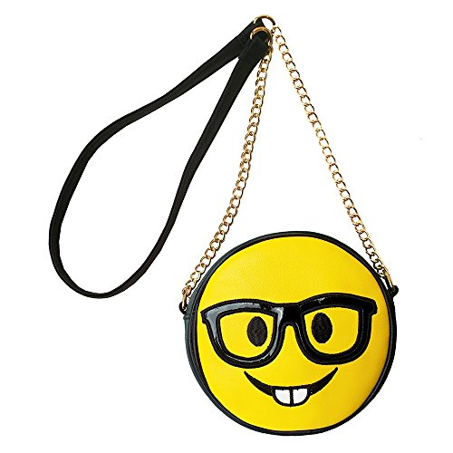 Eyeglasses Emoji Shoulder Bag