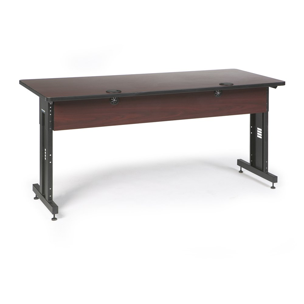 72'' W x 30'' D Training Table - African Mahogany