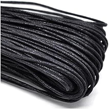 Deanyi cordón para Joyas, de algodón Encerado, Grosor: 2 mm ...