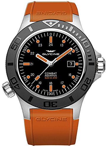 (Glycine Airman Purist World Timer Automatic Mens Watch GL0134)