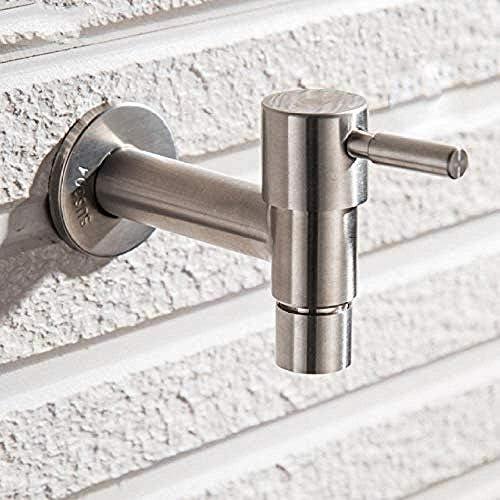 CHENBIN-BB 蛇口タップ現代ファッションガーデン304ステンレス鋼の高速オープン蛇口/ウォールタップ/冷水蛇口/モッププールタップをマウント