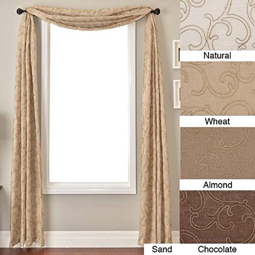 (Softline Santiago 6-Yard Window Scarf Wheat)
