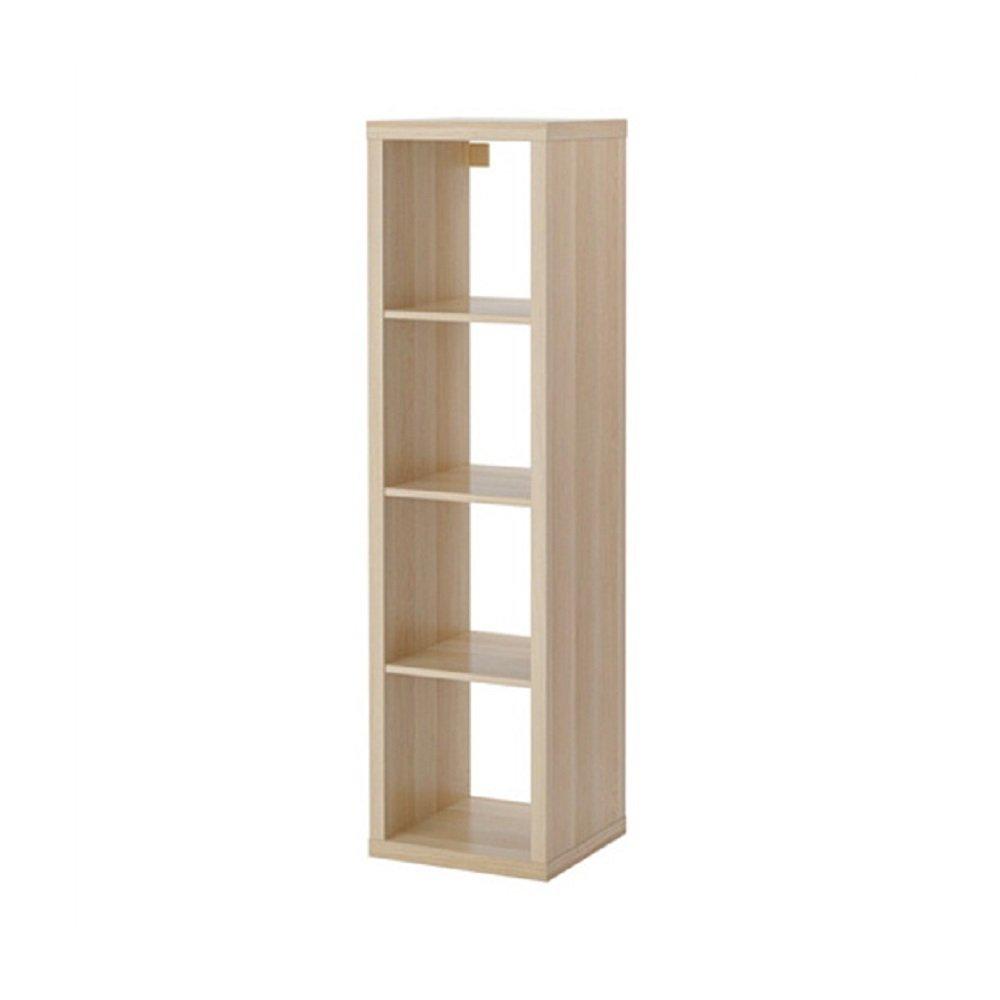 IKEA/イケア KALLAX/カラックス シェルフユニット42x147 cm ホワイトステインオーク調20324517 B01MRB29P7