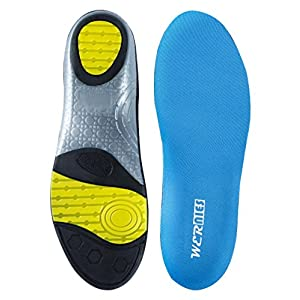 WERNIES Orthotic Arch Insoles For Women Foot Insoles Men Neutral Arch Replacement Shoes Insoles For Mens Running Shoe Inserts Gel Insoles Women Boot Insoles Men Cushioning Insole For Flat Feet Insert