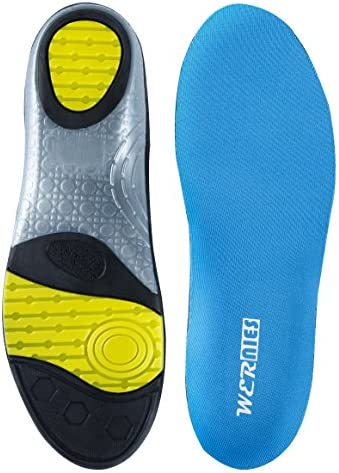 a4298f808f WERNIES Comfort Neutral Arch Replacement Sports Shoe Insole Performance Running  Shoe Inserts
