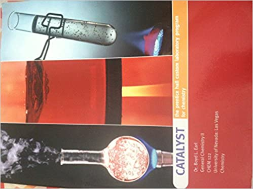 CATALYST the prentice hall custom laboratory program for chemistry ...