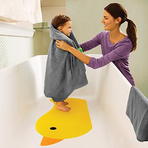 Munchkin Quack Duck Bath Mat, Yellow