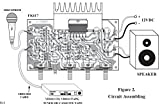 15W Power Amplifier with Tone control for Teacher