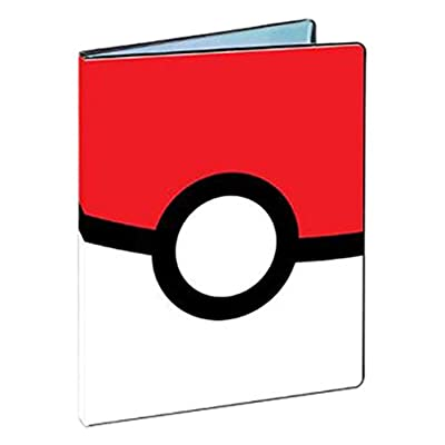 Ultra Pro Pokemon Poke Ball 9-Pocket Portfolio: Toys & Games
