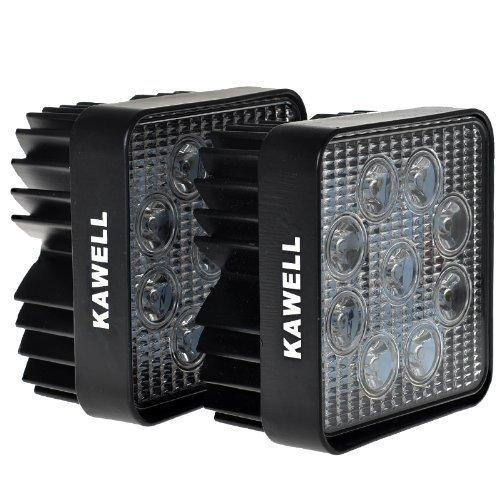 Kawell®  Pack of 2 27w Dc 12v 24v 6500k LED