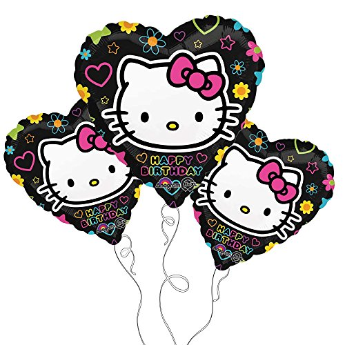 Black Hello Kitty Happy Birthday! 18