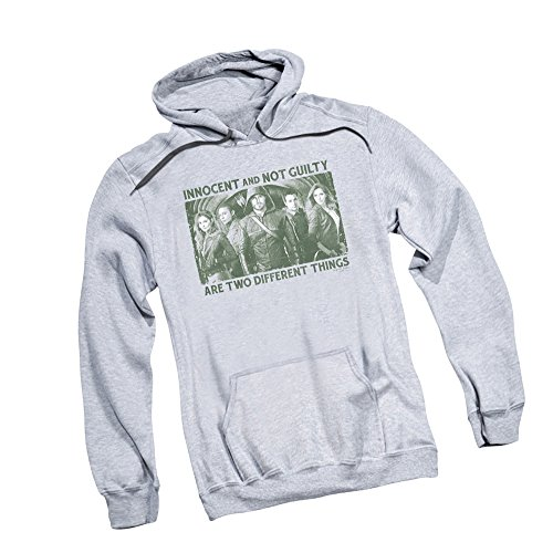 Not Guilty -- CW's Arrow - The Television Series Adult Hoodie Sweatshirt, XXX-Large ()