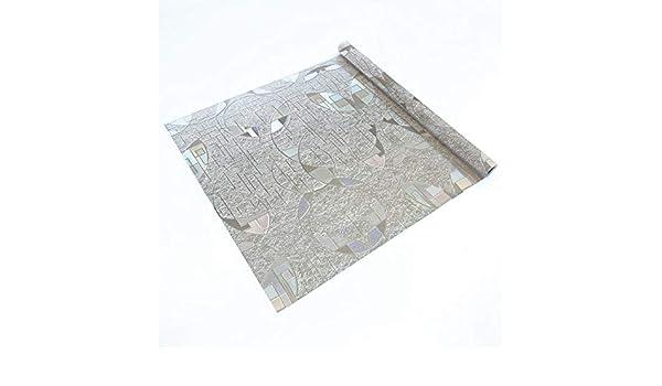 Lámina estática ventana con arco iris Ref LEGER Vinilo decorativo estático privacidad, 99% protección solar UV. Antiácaros. Fácil colocación. Sin adhesivo. Reutilizable. Film cristal, mampara 46x150cm: Amazon.es: Hogar