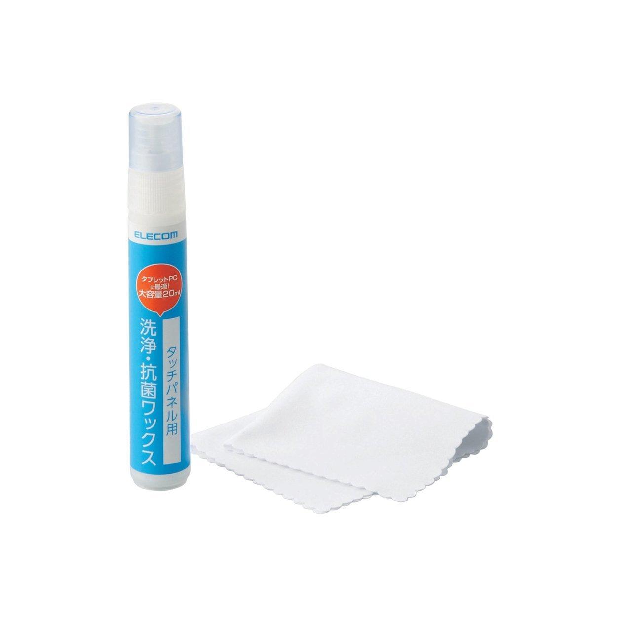 エレコム タッチパネル 洗浄・抗菌ワックス 大容量 20ml P-WX2