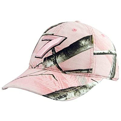 NASCAR Danica Patrick #7 Pink Camo Adjustable Hat by Football Fanatics