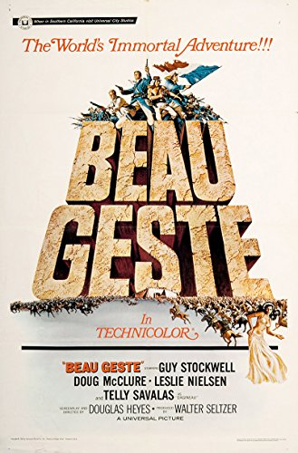 Beau Geste Poster - Beau Geste 1966 Authentic 27