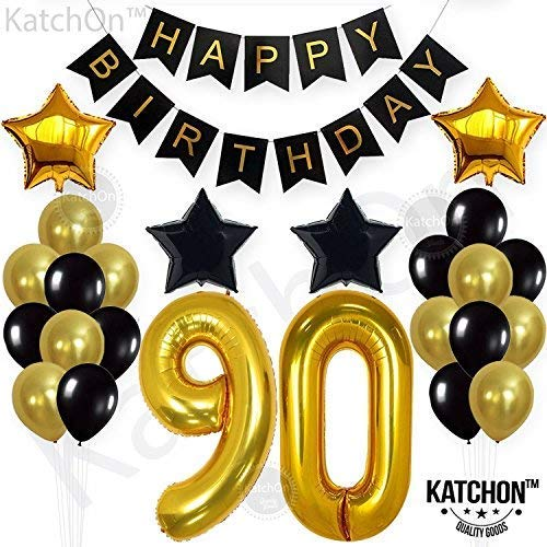90th Birthday Decorations Party Supplies