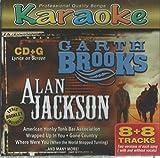 Music : Karaoke Bay Garth Brooks & Alan Jackson 8x8 Multiplex CDG