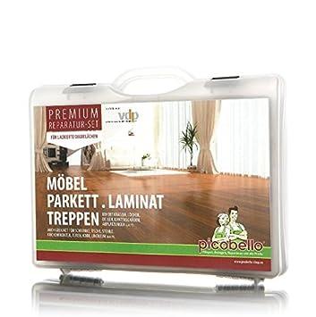 Profi Parkett profi reparatur set picobello für lackiertes versiegeltes parkett